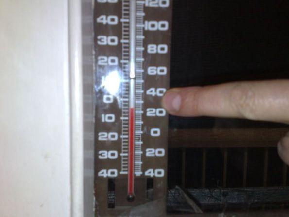 temperature-below