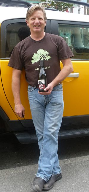 Brad Cooper, winemaker of Black Cloud Wines by April Smith of AHA Media