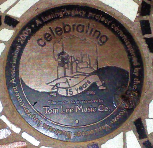 Mosaic sponsored by Tom Lee