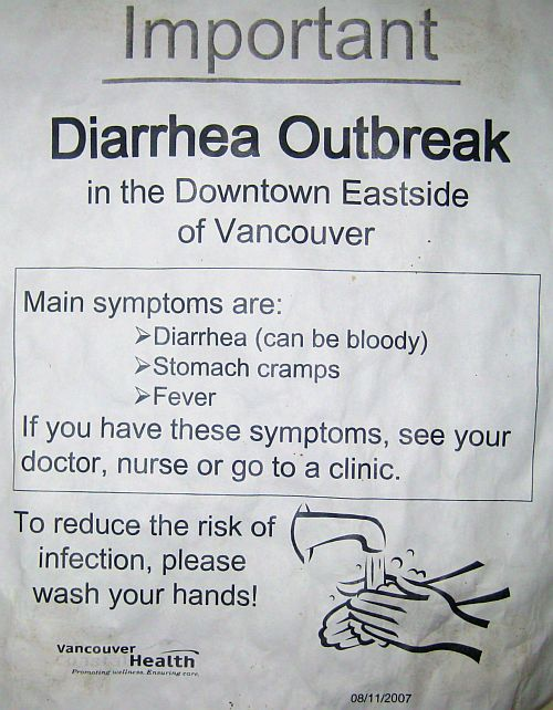 Diarrhea outbreak