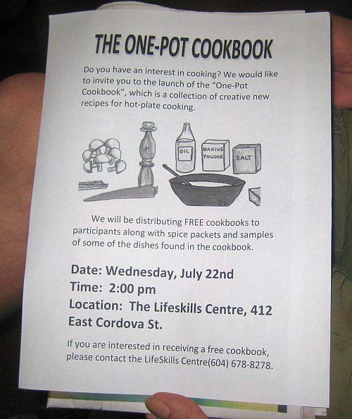one pot cook book