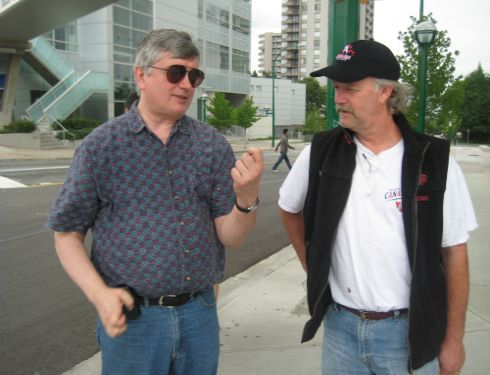 Parody of Stephen Harper and Jack Layton 2