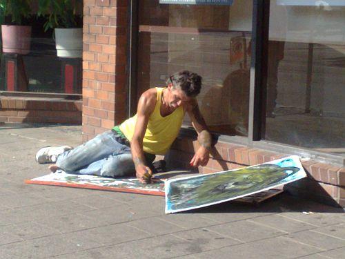 Street Artist 3
