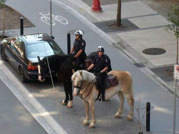 Vancouver Police on Horses 2