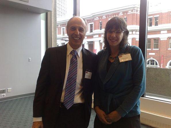 44 SFU Luncheon for Dr Cheryl Geisler, New Dean of Communication, Art & Technology