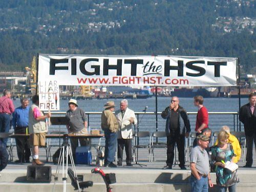 Fight HST rally