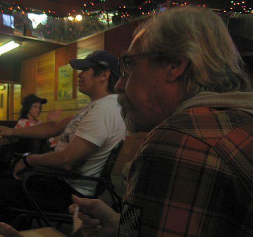 Hendrik watching Al