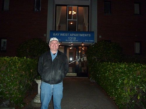 Al and 50th anniversary of Errol Flynn's death in building in Vancouver