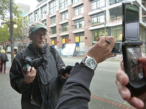 Bill with Cellphone Cameras