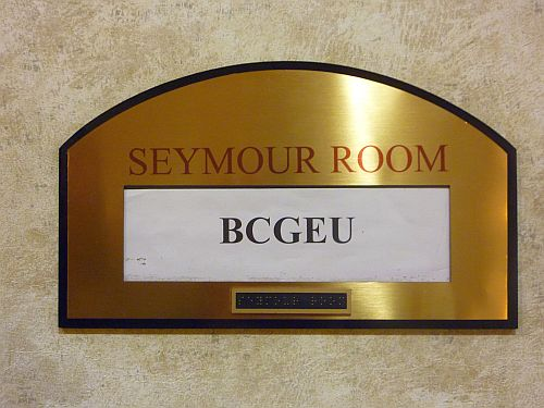 2 BCGEU in Seymour Room