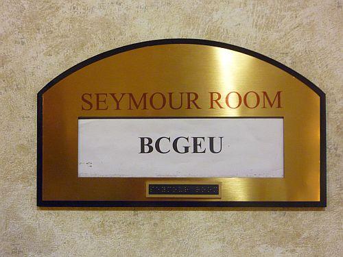 2 BCGEU in Seymour Room
