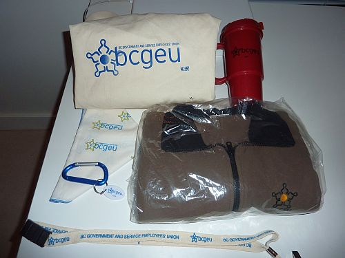 7 Gift Bag from BCGEU