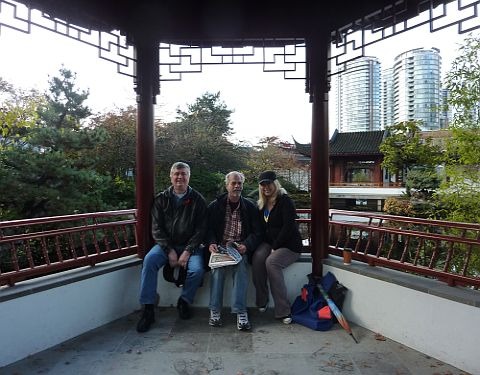 Al, Hendriik, April - AHA MEDIA in Dr.Sun Yat-Sen Park
