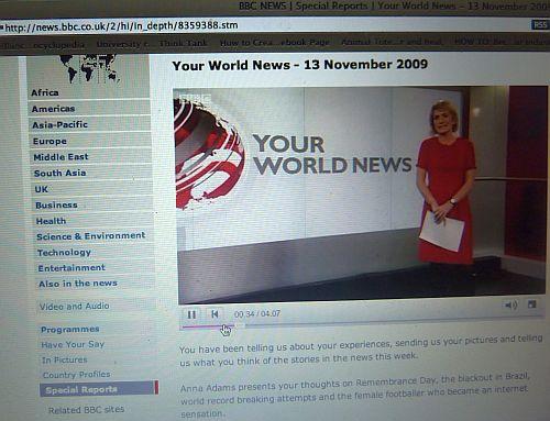 Anna Adams of BBC News