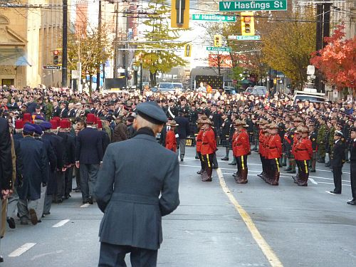 Remembrance Day at Victory Square 2