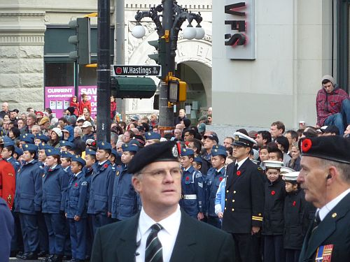 Remembrance Day at Victory Square 3