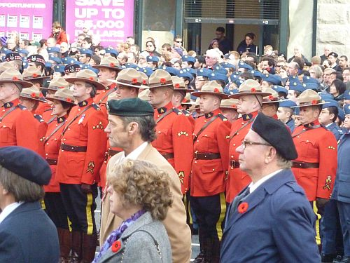 Remembrance Day at Victory Square 4