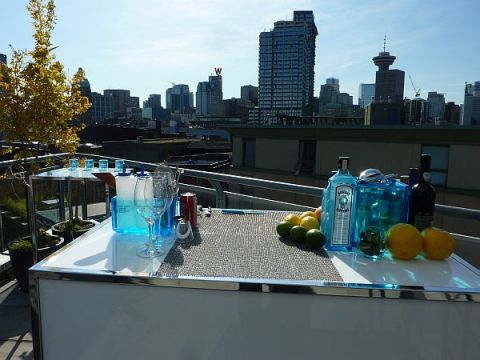 Bombay Sapphire in Vancouver