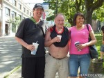 111 AHA MEDIA films HIV testing day at Victory Square in VancouverDTES