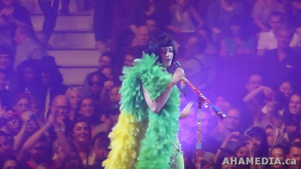 121 AHA MEDIA films Katy Perry #VancouverDreams Concert in Vancouver