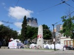 2 AHA MEDIA films HIV testing day at Victory Square in VancouverDTES