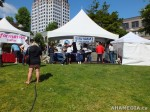 22 AHA MEDIA films HIV testing day at Victory Square in Vancouver DTES