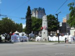 36 AHA MEDIA films HIV testing day at Victory Square in VancouverDTES