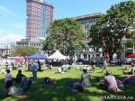 94 AHA MEDIA films HIV testing day at Victory Square in VancouverDTES