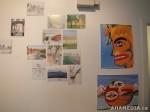 12 AHA MEDIA films LifeSkills Art show in Vancouver DTES