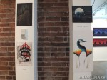 18 AHA MEDIA films LifeSkills Art show in Vancouver DTES