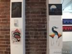 18 AHA MEDIA films LifeSkills Art show in Vancouver DTES