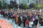 25 AHA MEDIA films Jack Layton Candlelight Vigil and Memorial in Vancouver