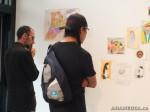 25 AHA MEDIA films LifeSkills Art show in Vancouver DTES