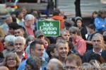 26 AHA MEDIA films Jack Layton Candlelight Vigil and Memorial inVancouver