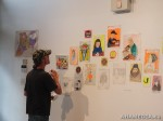 58 AHA MEDIA films LifeSkills Art show in Vancouver DTES