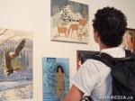 59 AHA MEDIA films LifeSkills Art show in Vancouver DTES