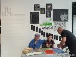 67 AHA MEDIA films LifeSkills Art show in Vancouver DTES