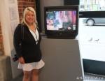 73 AHA MEDIA films LifeSkills Art show in Vancouver DTES