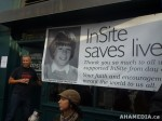 112 AHA MEDIA films at InSite Historical Day of Being allowed to Stay Open inVancouver