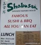 1 AHA MEDIA films at Shabusen restaurant inVancouver