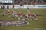 136 AHA MEDIA films 2011 Grey Cup - BC Lions vs Winnipeg Blue Bombers in Vancouver
