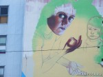 182 AHA MEDIA films W2 Soul Garden Mural in Vancouver Downtown Eastside (DTES)