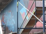 218 AHA MEDIA films W2 Soul Garden Mural in Vancouver Downtown Eastside (DTES)