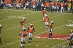 242 AHA MEDIA films 2011 Grey Cup - BC Lions vs Winnipeg Blue Bombers in Vancouver
