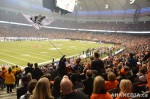 251 AHA MEDIA films 2011 Grey Cup - BC Lions vs Winnipeg Blue Bombers in Vancouver