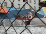 266 AHA MEDIA films W2 Soul Garden Mural in Vancouver Downtown Eastside (DTES)