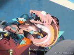 289 AHA MEDIA films W2 Soul Garden Mural in Vancouver Downtown Eastside (DTES)