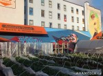 298 AHA MEDIA films W2 Soul Garden Mural in Vancouver Downtown Eastside (DTES)