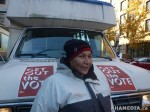 31 AHA MEDIA films DTES residents voting on Nov 19 2011 in Vancouver