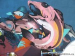 312 AHA MEDIA films W2 Soul Garden Mural in Vancouver Downtown Eastside (DTES)